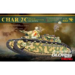Meng French super heavy tank Char 2C 1:35 (TS-009)