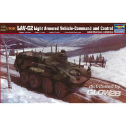 Trumpeter USMC LAV-C2 Command Control Vehicle 1:35 (371)