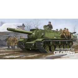 Trumpeter Soviet SU-152 Self-propelled Heavy How. 1:35 (1571)