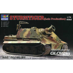 Trumpeter Sturmtiger Assault Mortar (Late Type) 1:72 (7247)