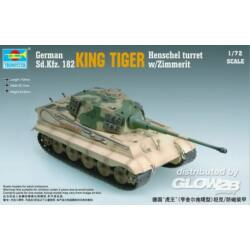 Trumpeter King Tiger Henschel Turret w/Zimmerit 1:72 (7291)