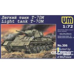 Unimodel Light tank T-70M 1:72 (306)