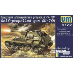 Unimodel SU-76M Self-propelled gun 1:72 (308)