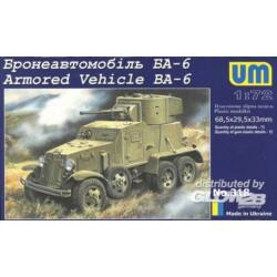 Unimodel Armored Vehicle BA-6 1:72 (318)