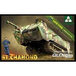 Takom French Heavy Tank St.Chamond Late Type 1:35 (2012)