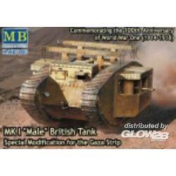 Master Box MK I Male British tank,Special modificat 1:72 (72003)