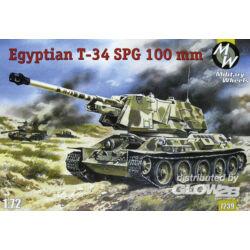 Military Wheels T-34-100 Egypt Army 1:72 (7239)