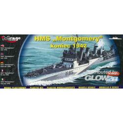 Mirage Hobby HMS 'Montgomery' late 1942 1:400 (40607)