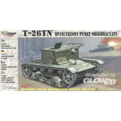 Mirage Hobby T-26 TN Beobachtungspanzer 1:72 (72606)