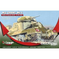 Mirage Hobby M3 GRANT Mk I Battle of GAZALA -21.06.42 1:72 (728008)