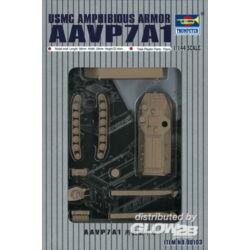 Trumpeter AAVP7A1 USMC Amphibious Armorg 1:144 (105)
