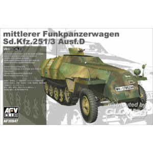 AFV Club Sd.Kfz. 251/3 Ausf.D 1:35 (AF35S47)