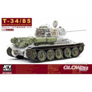 AFV Club T-34/85 Factory 174 with trans. turret 1:35 (AF35S56)