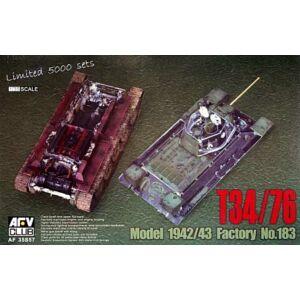 AFV Club T34/76 1943 transparent hull 1:35 (AF35S57)