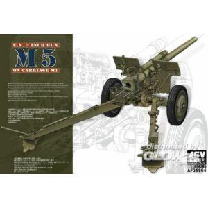 AFV Club 3in Gun M5 On Carriage M1 1:35 (AF35S64)
