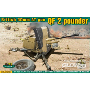 ACE QF 2 pounder British 40mm AT gun 1:72 (ACE72504)