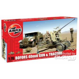 Airfix Bofors Gun and Tractor 1:76 (A02314)