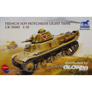 Bronco French H39 Hotchkiss light tank 1:35 (CB35001)