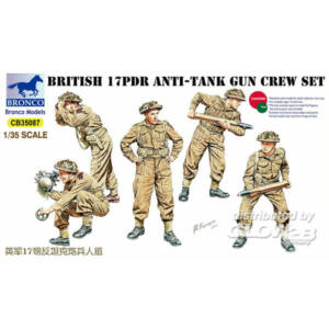 Bronco 17pdr Anti-Tank Gun Crew Set 1:35 (CB35087)