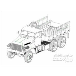 Hobby Boss US White 666 Cargo (Hard Top) 1:35 (83801)