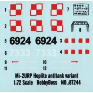 Hobby Boss Mil mi-2URP Hoplite antitank variant 1:72 (87244)