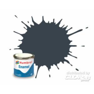 Humbrol Enamel 032 Dark Gray Matt (AA1506)