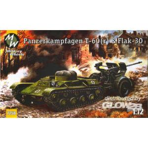 Military Wheels T-60   Flak-30 1:72 (7258)