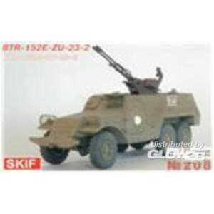 Skif BTR-152E with ZU-23-2 1:35 (208)