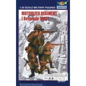 Trumpeter Motorized Regiment Belgrad 1941 1:35 (403)