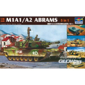 Trumpeter M1A1/A2 Abrams 5 in 1 1:35 (1535)