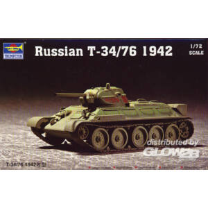 Trumpeter Russian T-34/76 Model 1942 1:72 (7206)