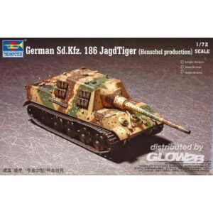 Trumpeter German Sd.kfz.186 Jagdtiger (Henschel production) 1:72 (7254)