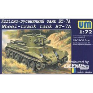 Unimodel Wheel-Track tank BT-7A 1:72 (312)