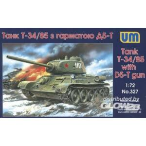 Unimodel T-34/85 with D5-T gun 1:72 (327)