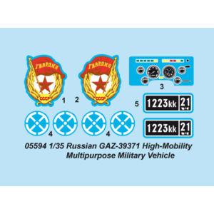 Trumpeter Russian GAZ39371 High-Mobility Multipurp 1:35 (5594)