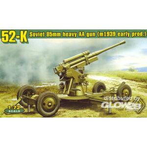 ACE 52-K 85mm Soviet Heavy AA Gun early version 1:72 (ACE72276)