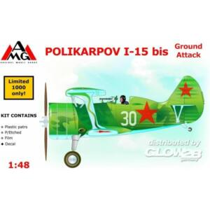 AMG Polikarpov I-15 bis ground attack aircra 1:48 (48303)