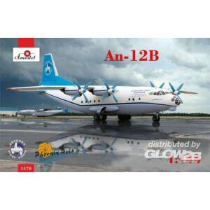 Amodel Antonov An-12B cargo aircraft 1:144 (1470)
