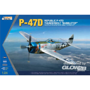 Kinetic P-47D Thunderbolt Bubble Top 1:24 (3207)