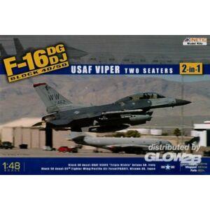 Kinetic F-16C Block 50-USAF Viper 1:48 (48005)