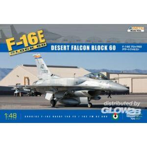 Kinetic F-16E Block 60 Desert Falcon 1:48 (48029)