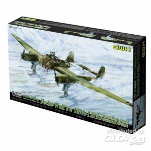 Lion Roar WWII German Fw 189A-1 w. SA Schneekufen 1:48 (L4808)