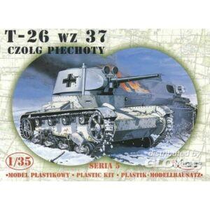 T-60  Stalingrad 1:35 Mirage 355008 WWII german Panzer Beutepanzer T-26 r