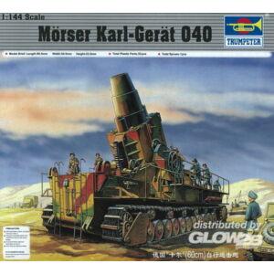 Trumpeter Mörser Karl Gerät 040 1:144 (00101)