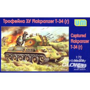 Unimodel Captured Flakpanzer T-34r 1:72 (254)