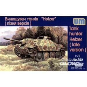 Unimodel Tank Hunter Hetzer (late version) 1:72 (353)