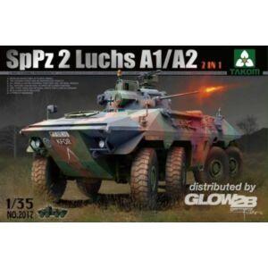Takom Bundeswehr SpPz 2 Luchs A1/A2 2 in 1 1:35 (2017)