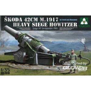 Takom Skoda 42cm M.1917 Heavy Siege Howitzer w 1:35 (2018)