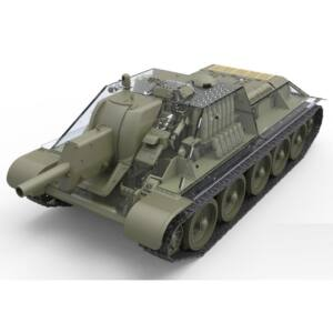 Miniart SU-122 (Initial Production)w/Full Interior 1:35 (35175)