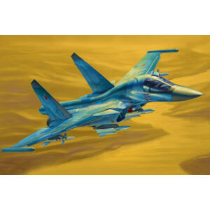 Hobby Boss Russian Su-34 Fullback Fighter-Bomber 1:48 (81756)